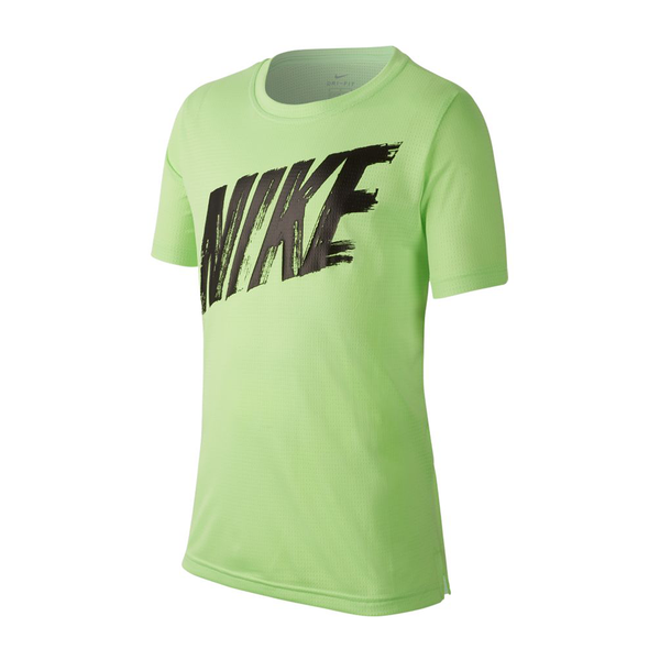 Nike Dri-Fit Training Top (Boy's) - Lime Blast/Black