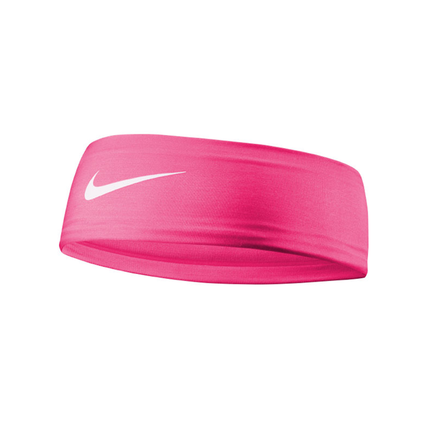 Nike Girl's Fury Headband 2.0 - Fluo Pink/White-Headbands-online tennis store canada