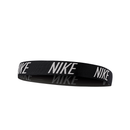 Nike Logo Hairband - Black/White-Headbands-online tennis store canada