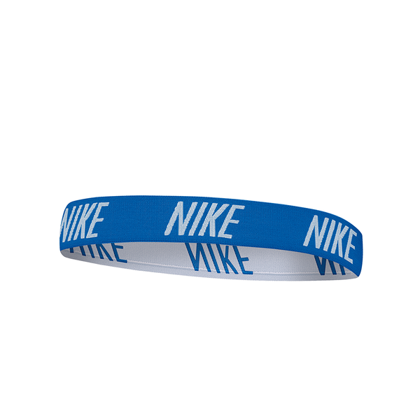 Nike Logo Hairband - Royal Blue/White-Headbands-online tennis store canada