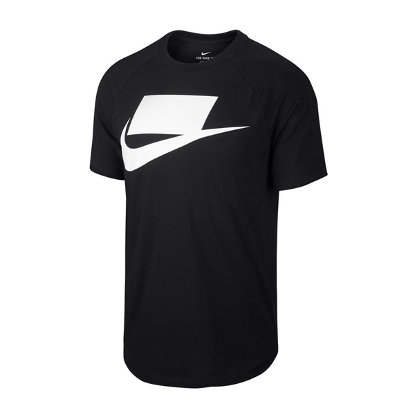 Nike Sportswear NSW T-Shirt (Men's) - Black/White-Tops-online tennis store canada