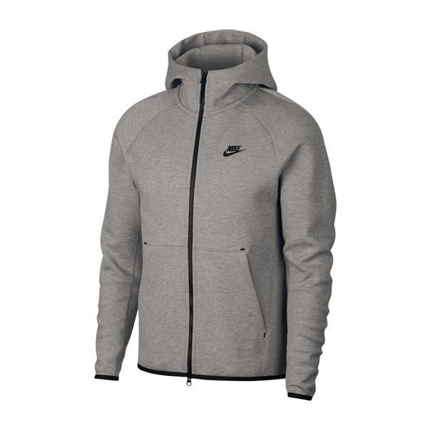 Nike Sportswear Tech Fleece Jacket (Men's) -  Dark Grey Heather/Black