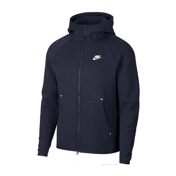 Nike Sportswear Tech Fleece Jacket (Men's) -  Obsidian/White
