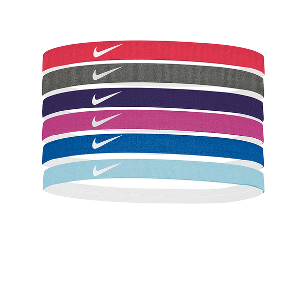 Nike Printed Headbands Assorted (6 pack) - Multi-Headbands-online tennis store canada