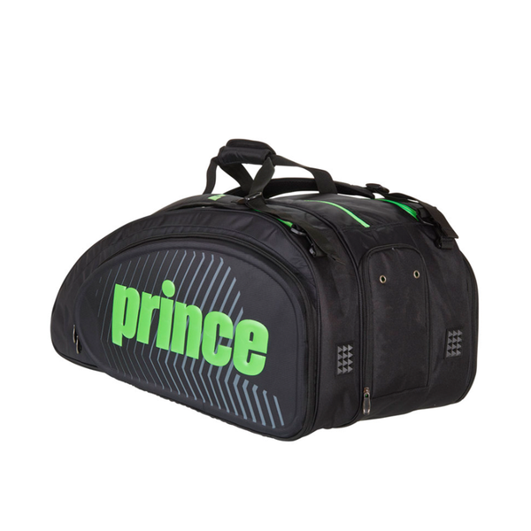 Prince Tour Slam 12 Pack Bag - Black/Green-Bags- Canada Online Tennis Store Shop