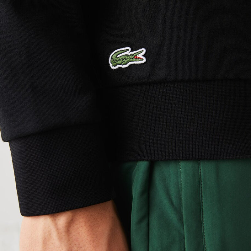 Lacoste Sport Oversized Crocodile Sweatshirt (Men's) - Black/White