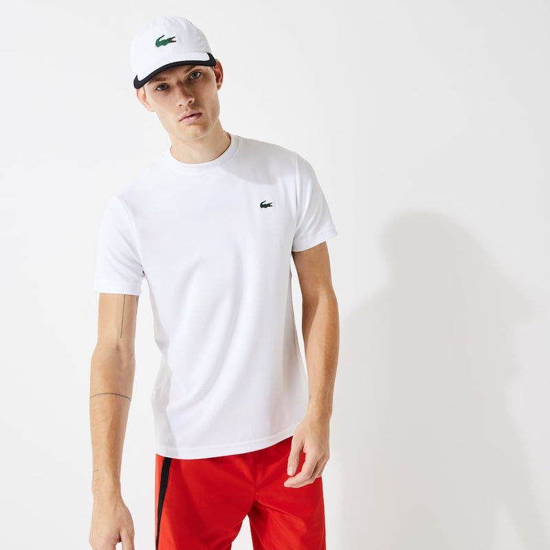 Lacoste Sport Breathable Piqué T-shirt (Men's) - White