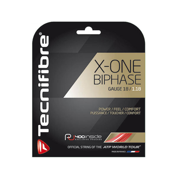 Tecnifibre X-One Biphase 18 Pack - Red-Tennis Strings-online tennis store canada