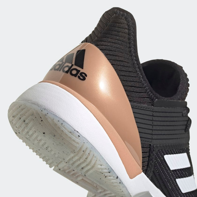 Adidas Ubersonic 3 (Women's) - Core Black/Cloud White/Copper Metallic