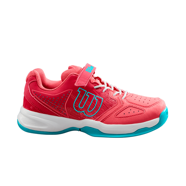 Wilson Kaos K (Junior's) - Paradise Pink/White/Peacock Blue (Only size: 1)