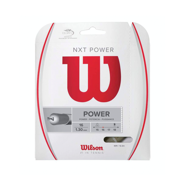 Wilson NXT Power 16 Pack - Natural-Tennis Strings-online tennis store canada