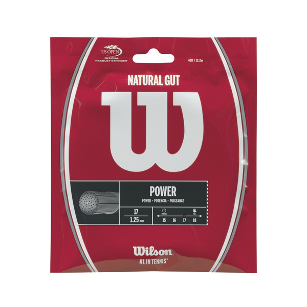 Wilson Natural Gut 17 Pack - Natural