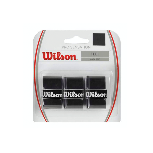 Wilson Pro Sensation Overgrip 3-Pack - Black