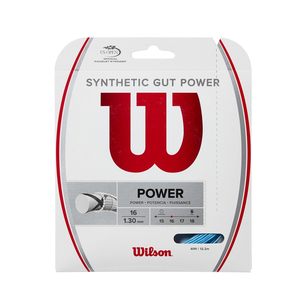 Wilson Synthetic Gut Power 16 Pack - Blue