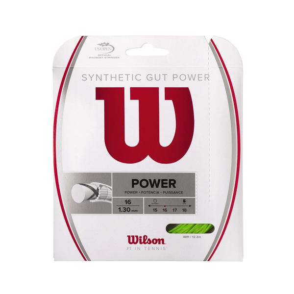 Wilson Synthetic Gut Power 16 Pack - Lime