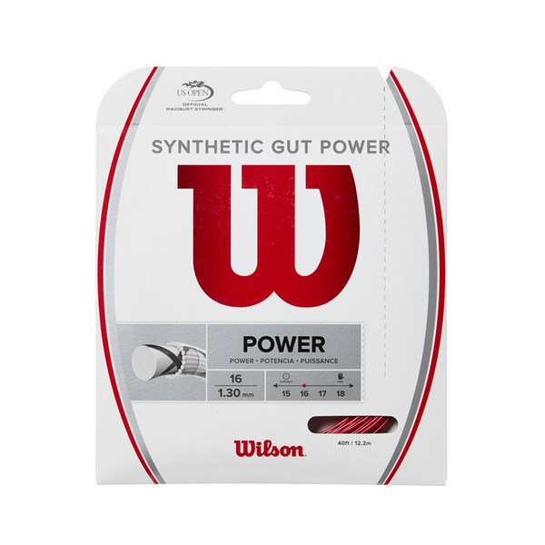 Wilson Synthetic Gut Power 16 Pack - Red
