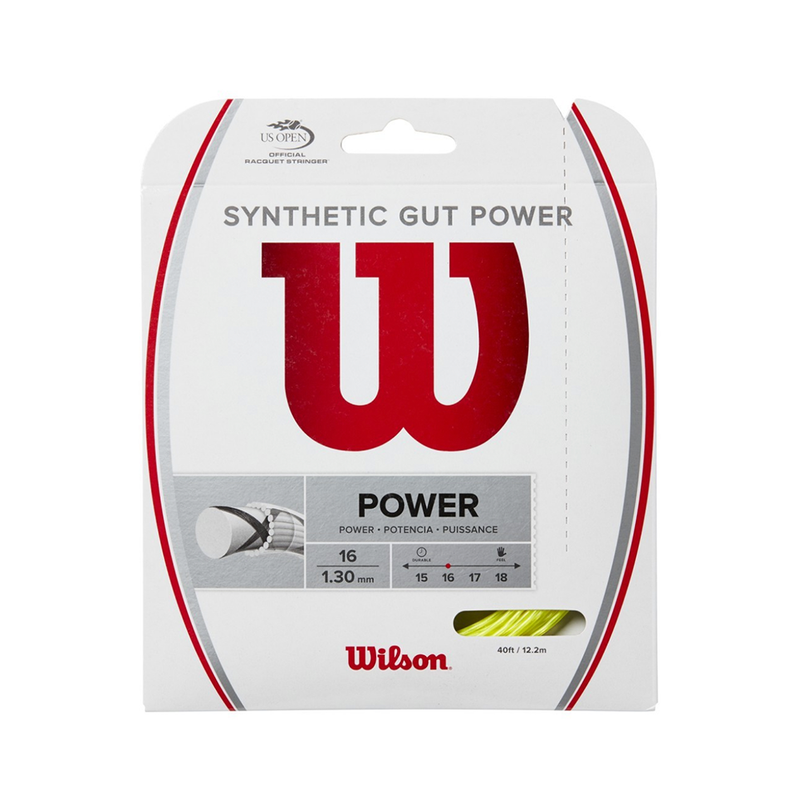 Wilson Synthetic Gut Power 16 Pack - Yellow