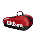 Wilson Team 2 Compartment Bag - Black/Red