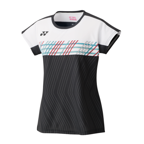 Yonex Crew Neck Shirt (Women's) - Black