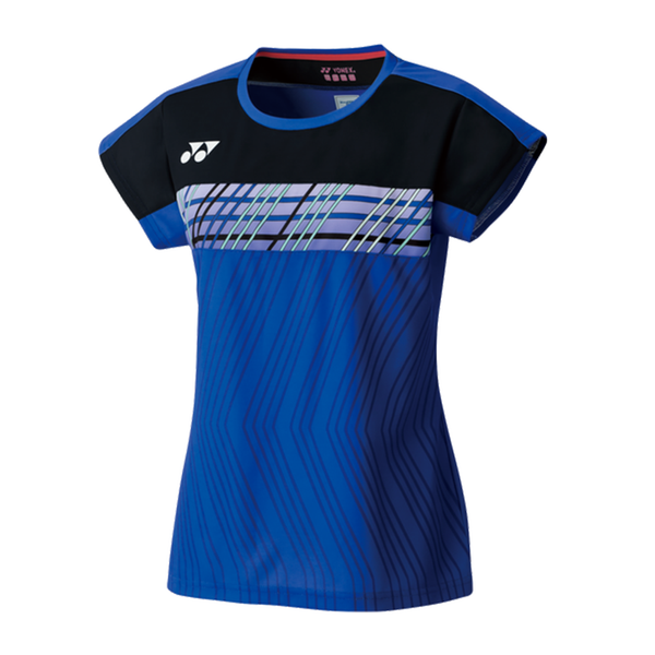 Yonex Crew Neck Shirt (Women's) - Dark Blue