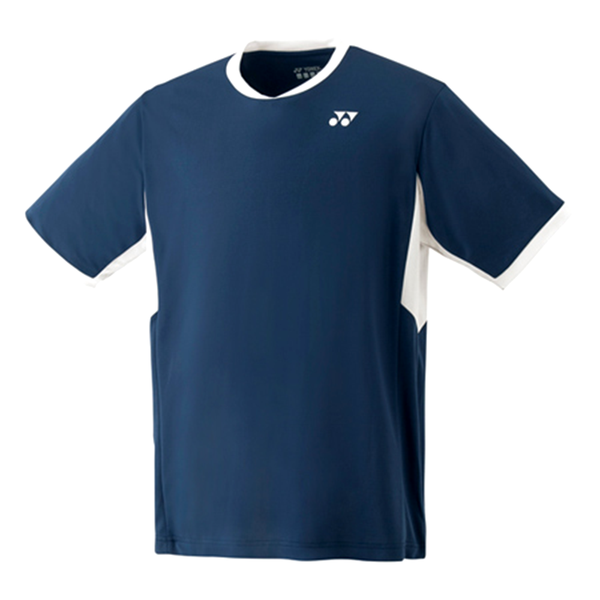 Yonex Team Crew T-Shirt (Men's) - Indigo Navy