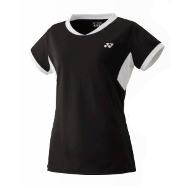 Yonex Team Shirt (Women's) - Black
