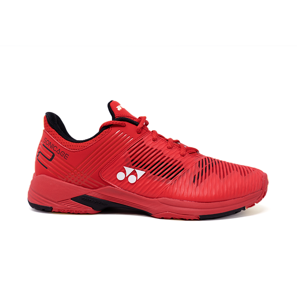 Yonex Power Cushion Sonicage 2 Clay (Men's) - Red/Black