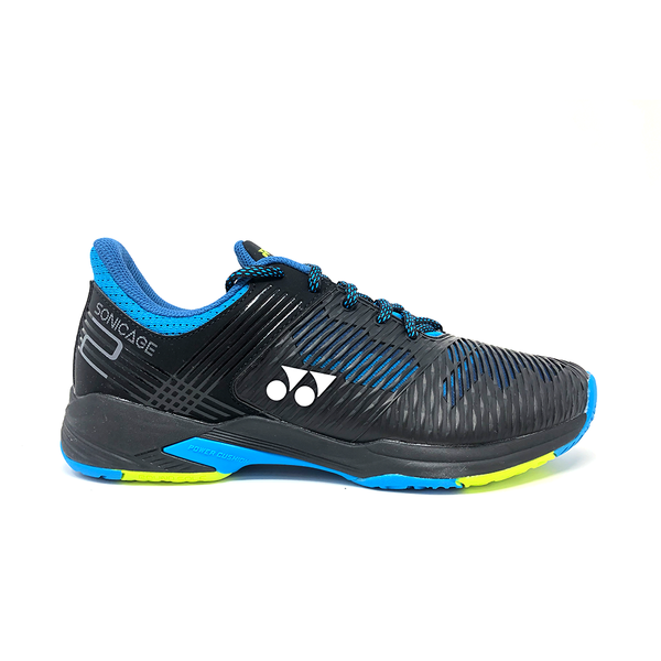 Yonex Power Cushion Sonicage 2 Wide (Men's) - Black/Blue
