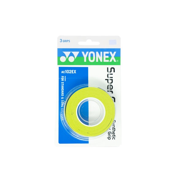 Yonex Super Grap Overgrips (3-Pack) - Lime Green