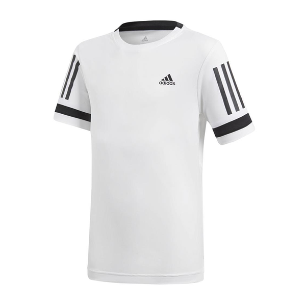 Adidas Club 3-Stripe (Boy's) - White-Tops- Canada Online Tennis Store Shop
