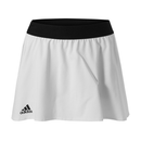 Adidas Escouade Skirt (Women's) - White/Black-Bottoms- Canada Online Tennis Store Shop