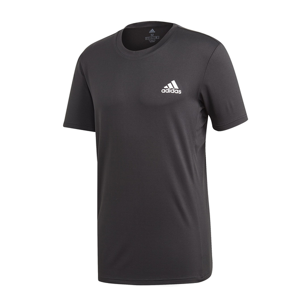 Adidas Escouade Tee (Men's) - Black/White-Tops- Canada Online Tennis Store Shop