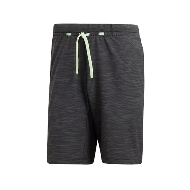 Adidas New York Melange Short (Men's) - Carbon Grey-Bottoms- Canada Online Tennis Store Shop