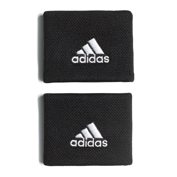 Adidas Small Tennis Wristband - Black-Wristbands- Canada Online Tennis Store Shop