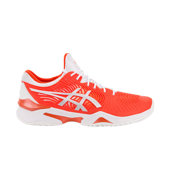 Asics Court FF Novak (Men's) - Cherry Tomato/White-Footwear- Canada Online Tennis Store Shop
