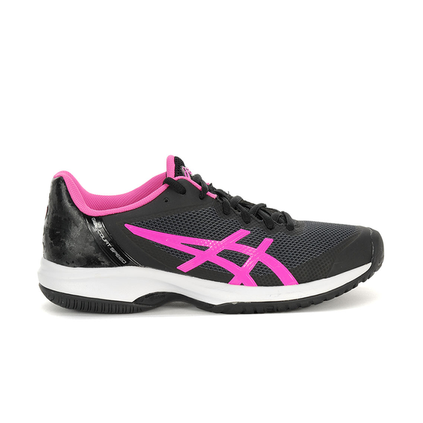 Asics Gel Court Speed (Women's) - Black/Hot Pink/White-Footwear- Canada Online Tennis Store Shop