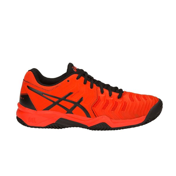 Asics Gel-Resolution GS (Junior) - Cherry Tomato/Black-Footwear- Canada Online Tennis Store Shop