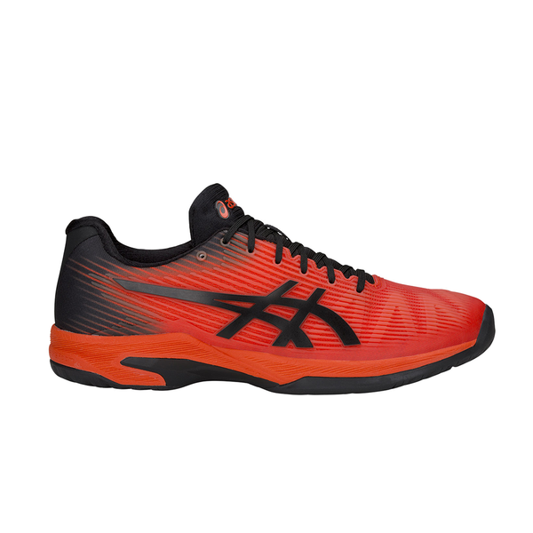 Asics Solution Speed FF (Men's) - Cherry Tomato/Black-Footwear- Canada Online Tennis Store Shop