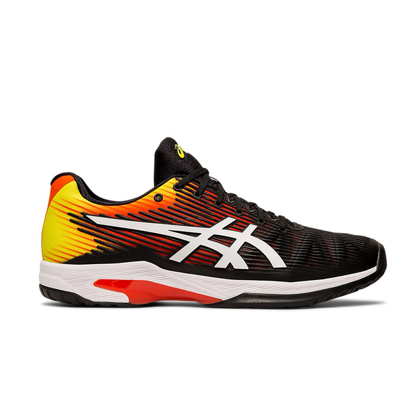 Asics Solution Speed FF (Men's) - KOI/Black/White-Footwear- Canada Online Tennis Store Shop