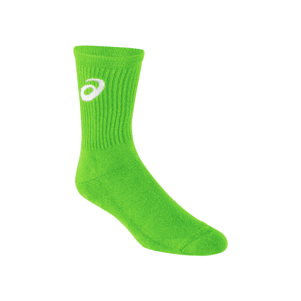 Asics Team Socks (Men's) - Neon Green-Socks- Canada Online Tennis Store Shop