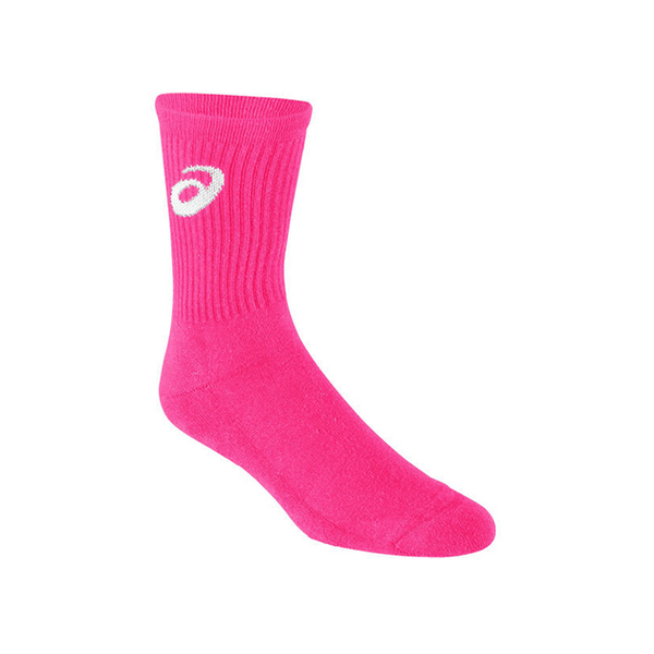 Asics Team Socks (Men's) - Pink Glow-Socks- Canada Online Tennis Store Shop