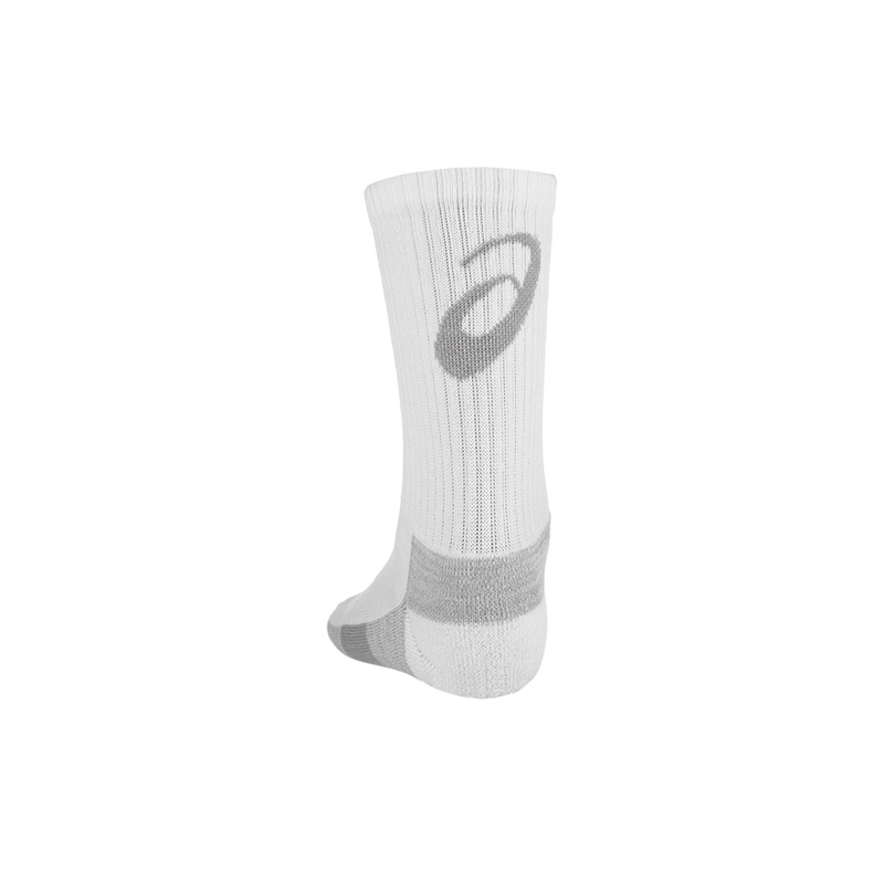 Asics Training Crew Socks 3 Pack (Unisex) - White-Socks- Canada Online Tennis Store Shop