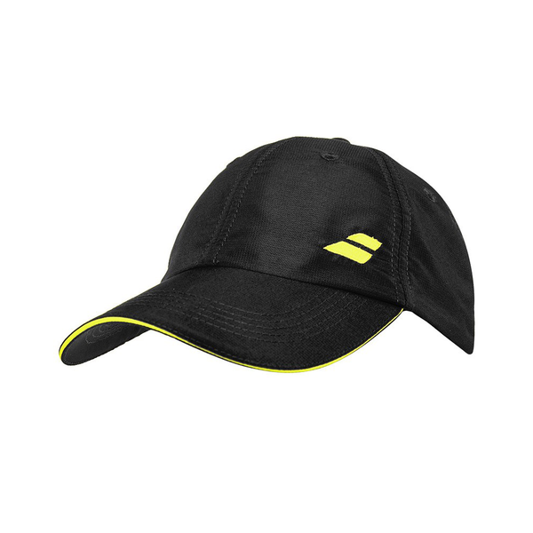 Babolat Basic Logo Hat - Black-Hats- Canada Online Tennis Store Shop