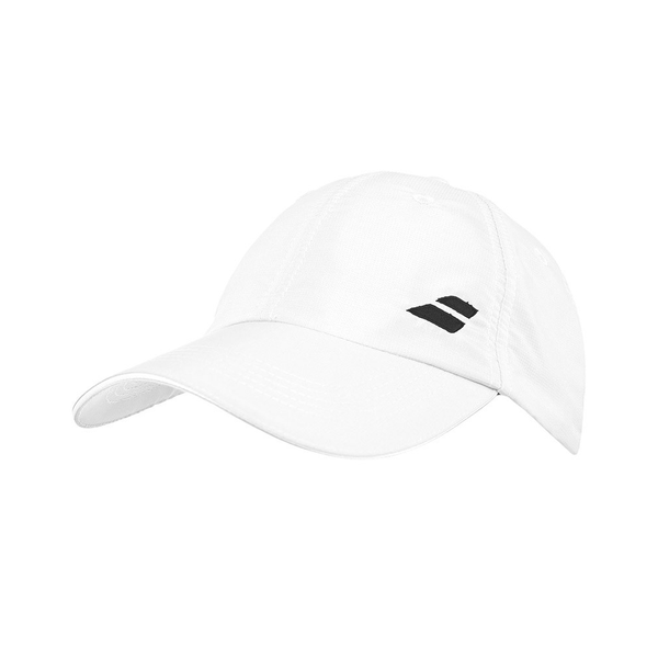 Babolat Basic Logo Hat - White-Hats- Canada Online Tennis Store Shop