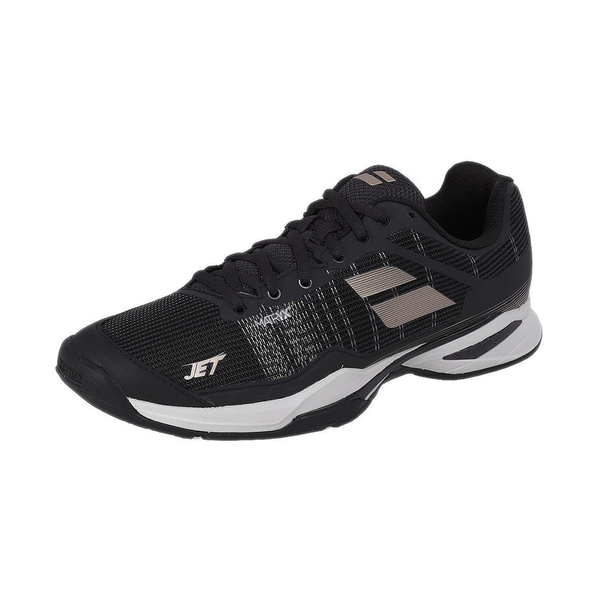 Babolat Jet Mach 1 All Court (Men's) - Black/Champagne-Footwear- Canada Online Tennis Store Shop