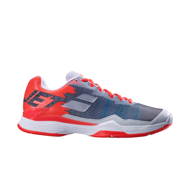 Babolat Jet Mach 1 All Court (Men's) - Silver/Fluo Strike-Footwear- Canada Online Tennis Store Shop