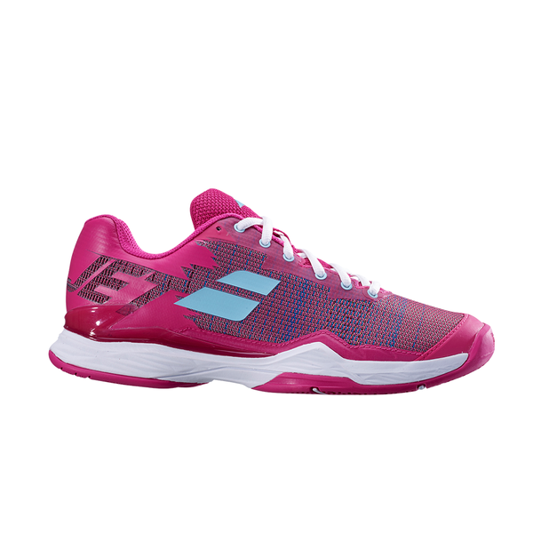 Babolat Jet Mach 1 All Court (Women's) - Purple/Blue-Footwear- Canada Online Tennis Store Shop