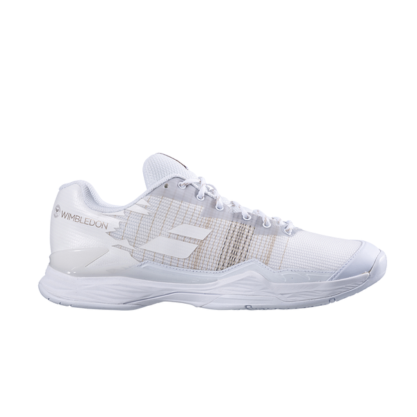 Babolat Jet Mach 1 Wimbledon All Court (Men's) - White-Footwear- Canada Online Tennis Store Shop
