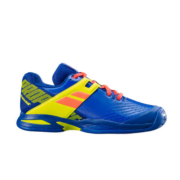 Babolat Propulse Clay (Junior) - Blue/Yellow-Footwear- Canada Online Tennis Store Shop