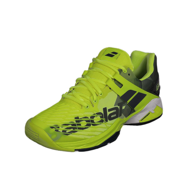 Babolat Propulse Fury Clay (Men's) - Fluorescent Yellow/Black-Footwear- Canada Online Tennis Store Shop